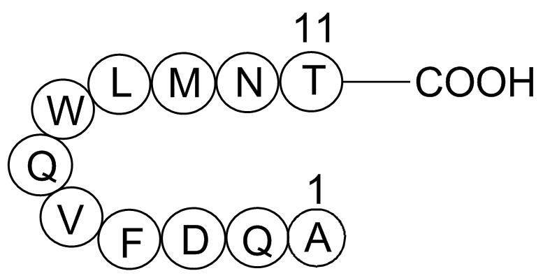 Glucagon (19-29), human