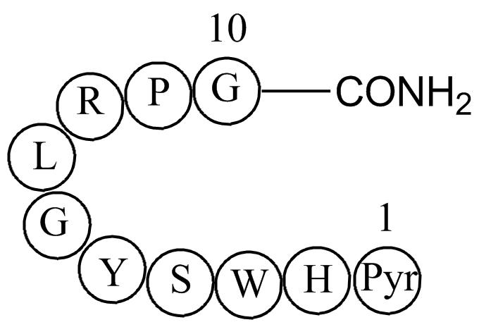 Luteinizing hormone releasing hormone human acetate salt(LHRH)