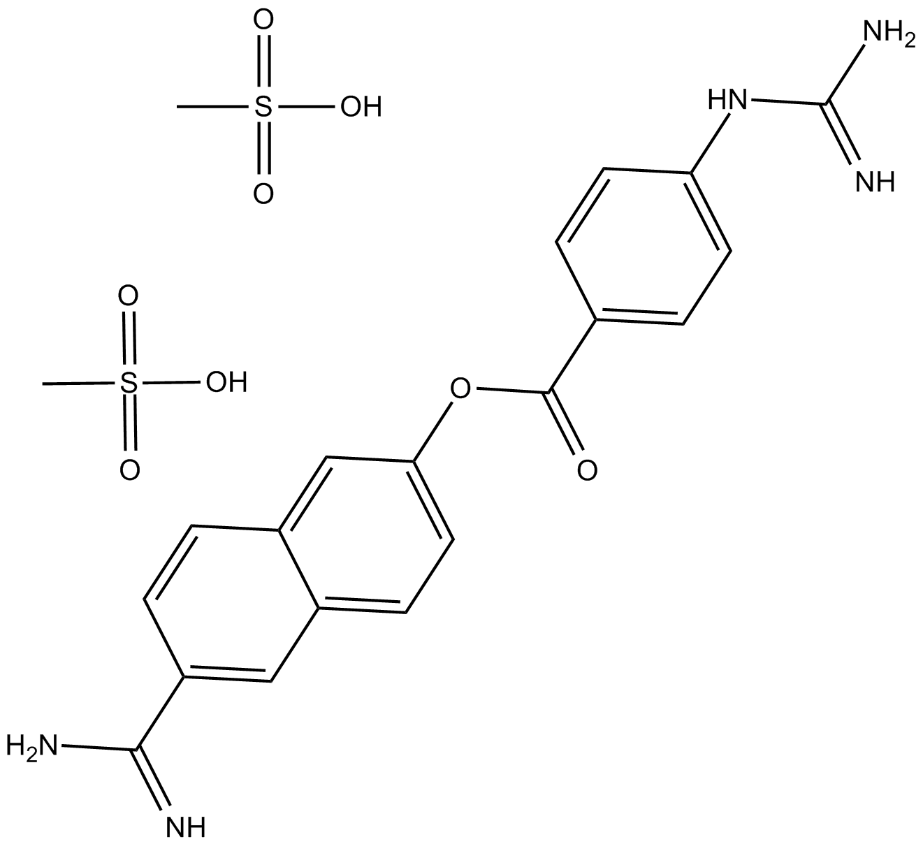 Nafamostat Mesylate(FUT-175)