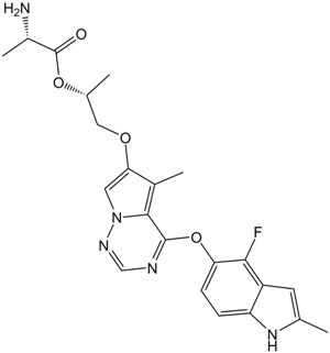 Brivanib Alaninate (BMS-582664)