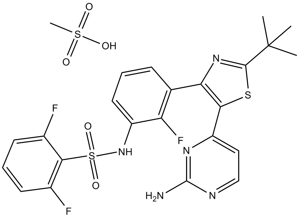 Dabrafenib Mesylate (GSK-2118436)