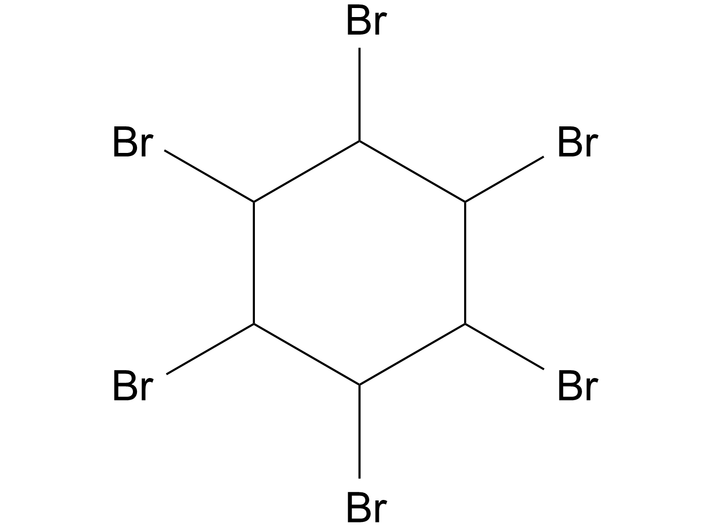 1,2,3,4,5,6-Hexabromocyclohexane