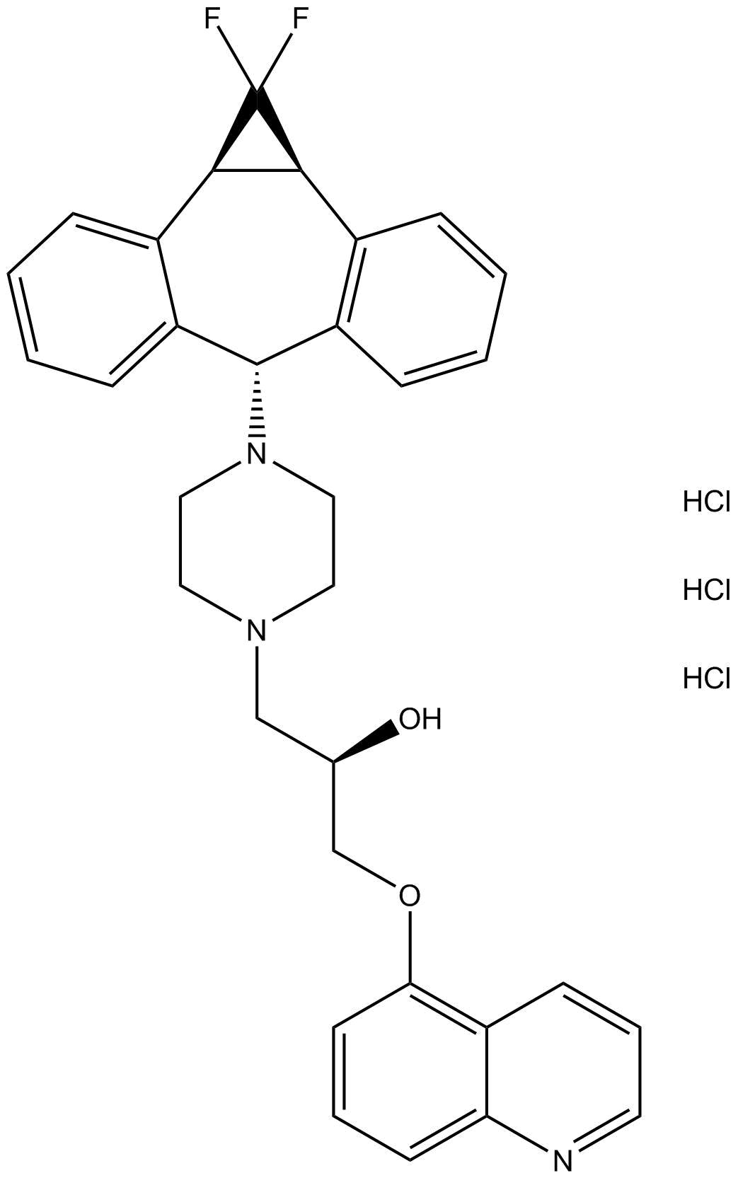 LY335979(Zosuquidar 3HCI)