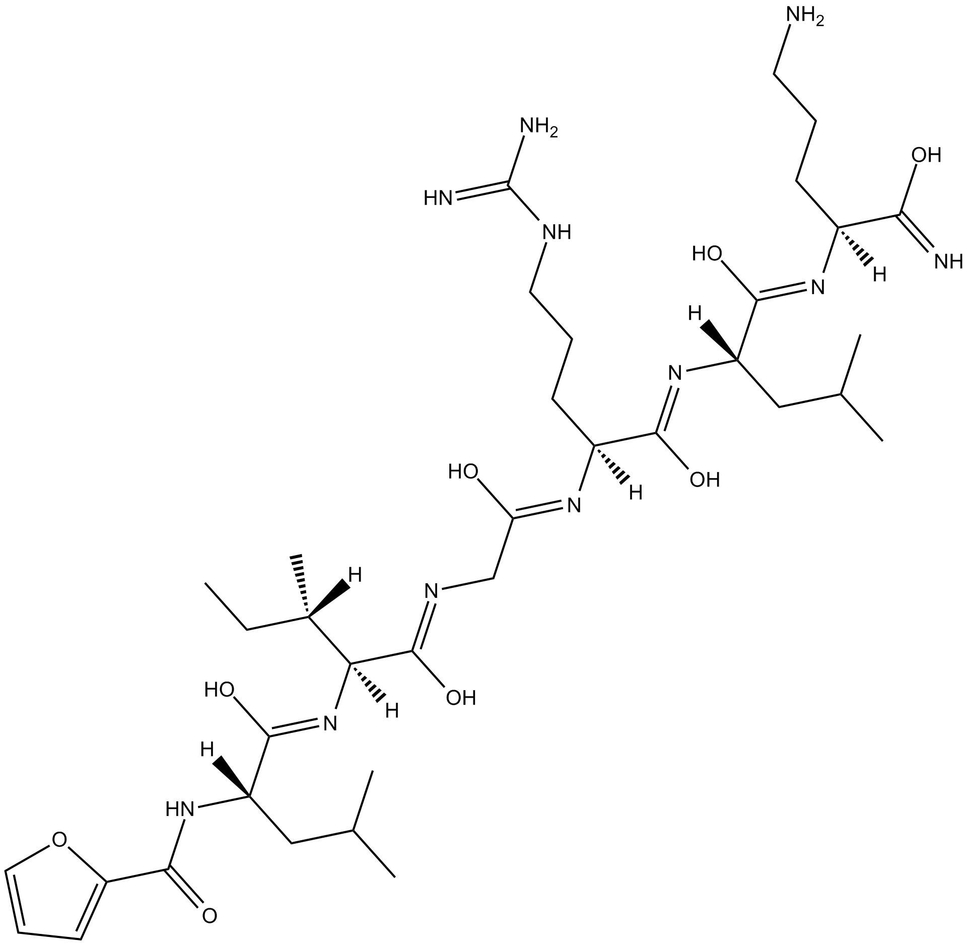 2-Furoyl-LIGRLO-amide