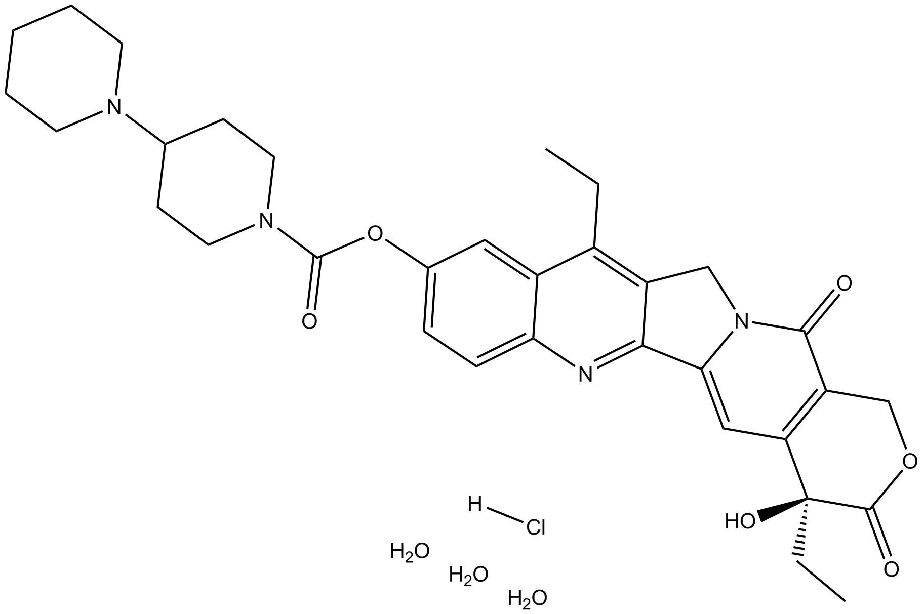 Irinotecan HCl Trihydrate