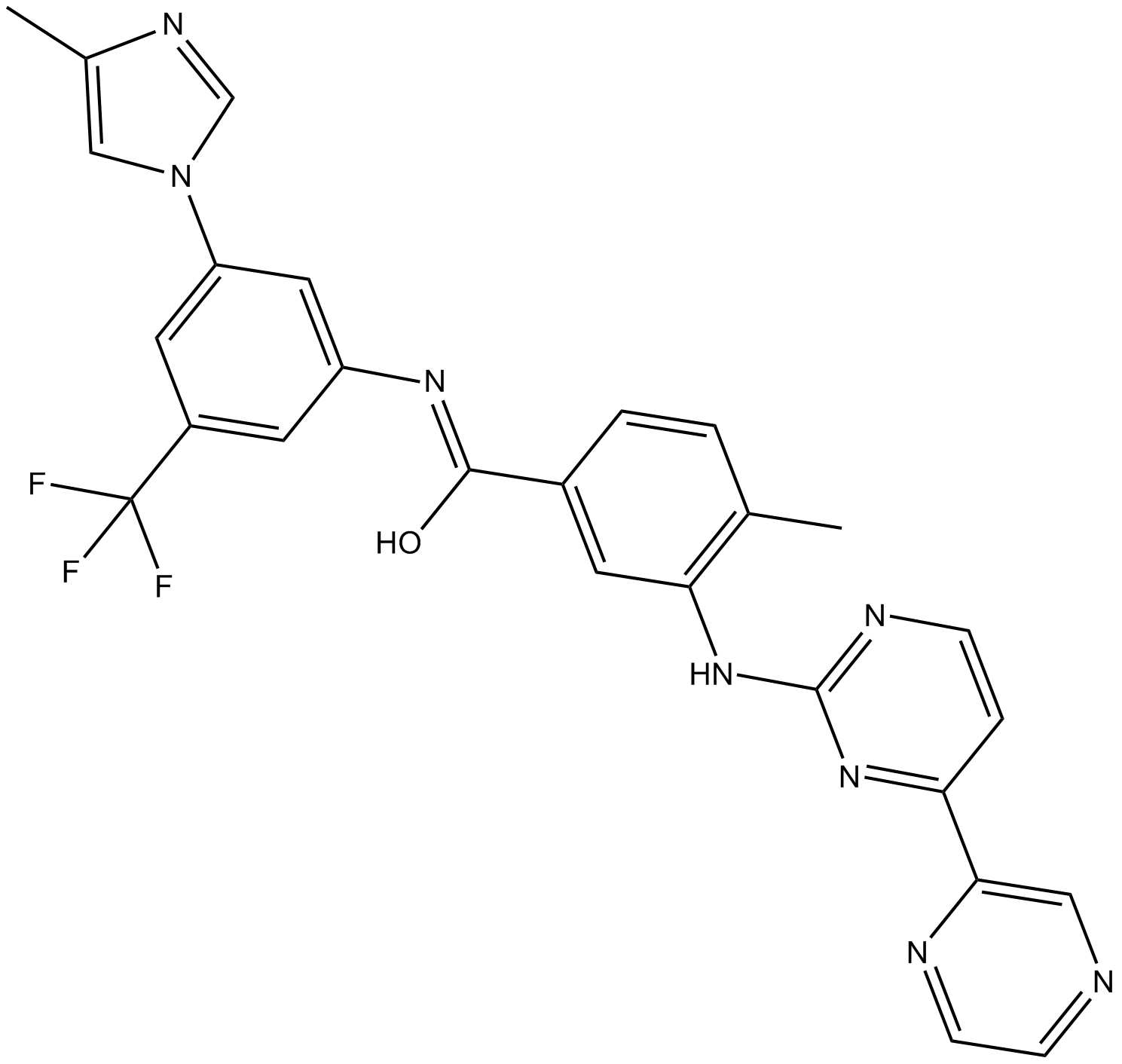Radotinib(IY-5511)