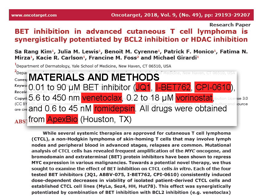 Scientific Summary from the Morgan Welch MD Anderson