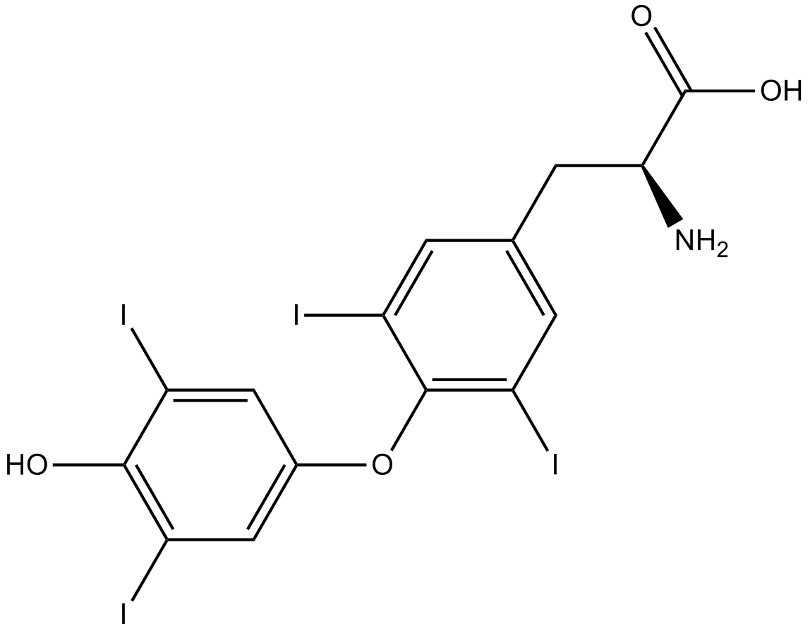 Apexbio L Thyroxine Iodine Containing Hormone Cas 51 48 9