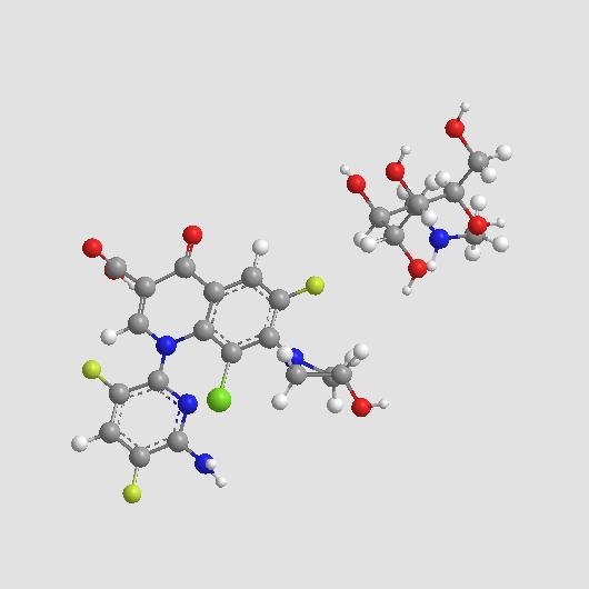 Delafloxacin meglumine|Fluoroquinolone antibiotic agent