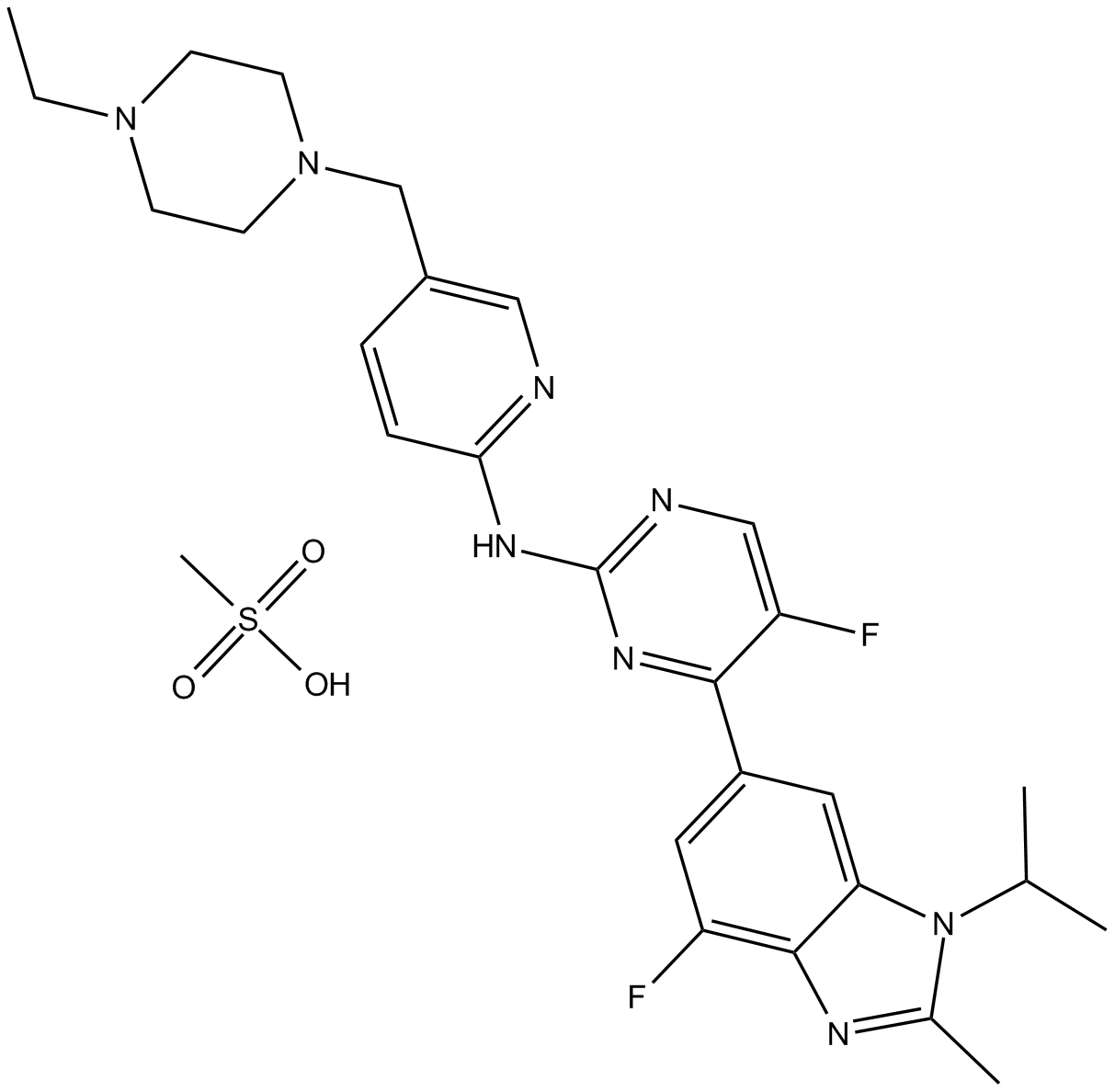 Apexbio Ly2835219 Cdk4 6 Inhibitor Potent And Selective Cas 1231930 82 7