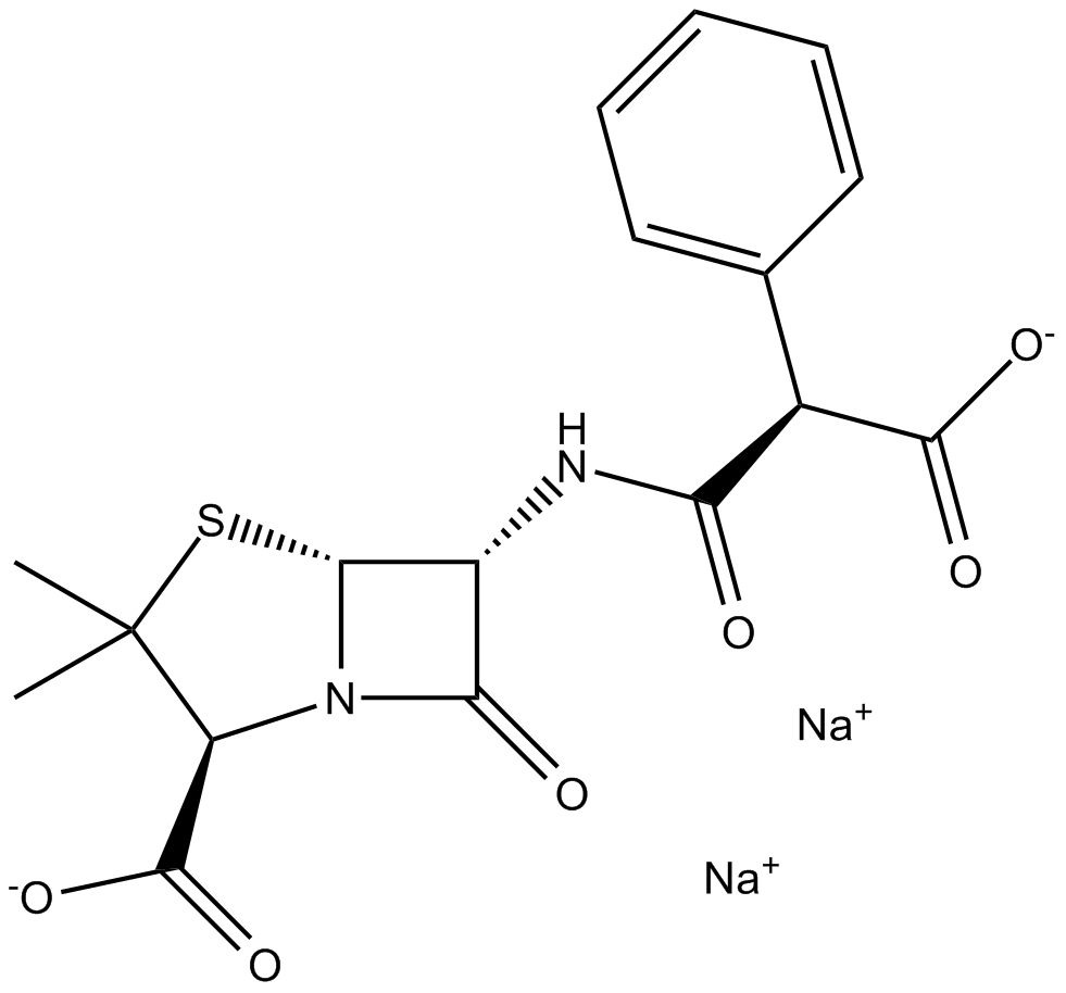 Carbenicillin, Disodium Salt