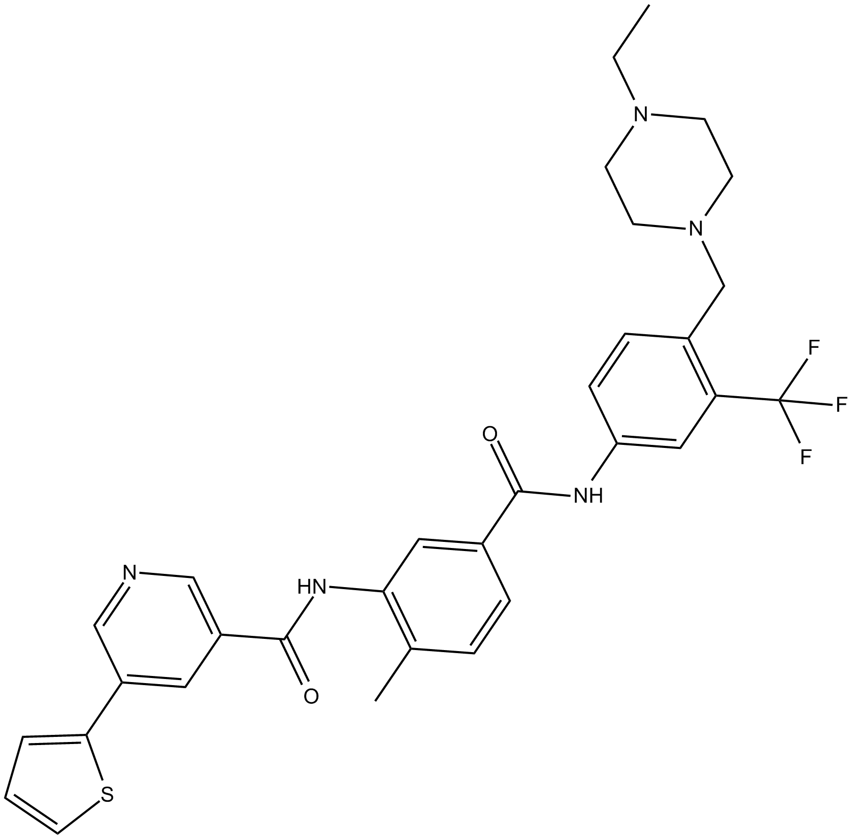APExBIO - ALW-II-41-27 Eph receptor inhibitor CAS# 1186206-79-0