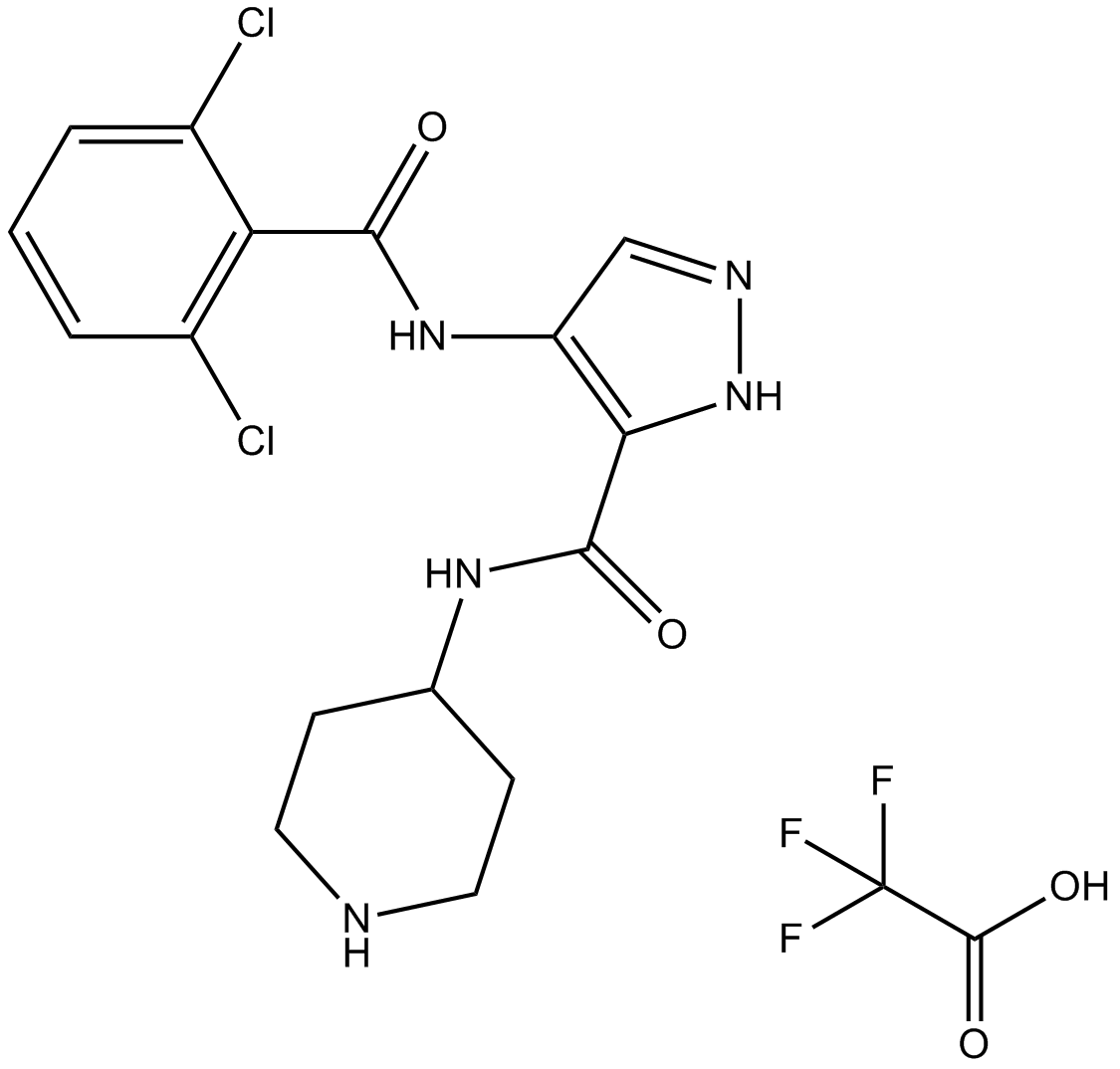 AT7519 trifluoroacetate