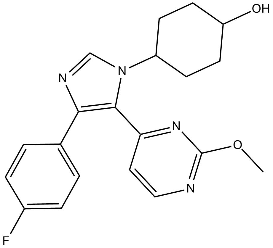 APExBIO - SB 239063|P38 MAP kinase inhibitor|CAS# 193551-21-2 on mtor inhibitor, protein kinase inhibitor, pi 3 kinase inhibitor, tyrosine kinase inhibitor, jak kinase inhibitor,