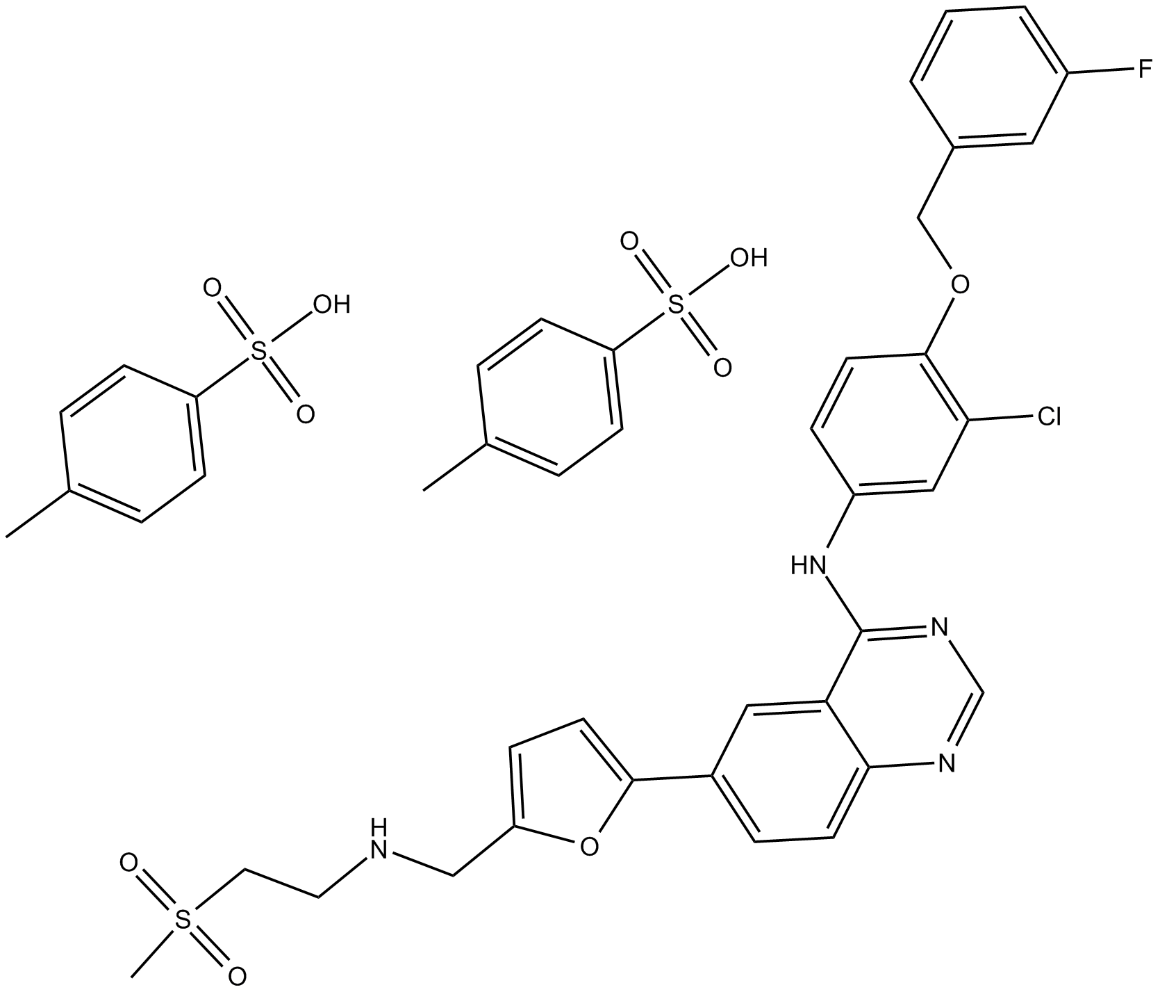Lapatinib Ditosylate