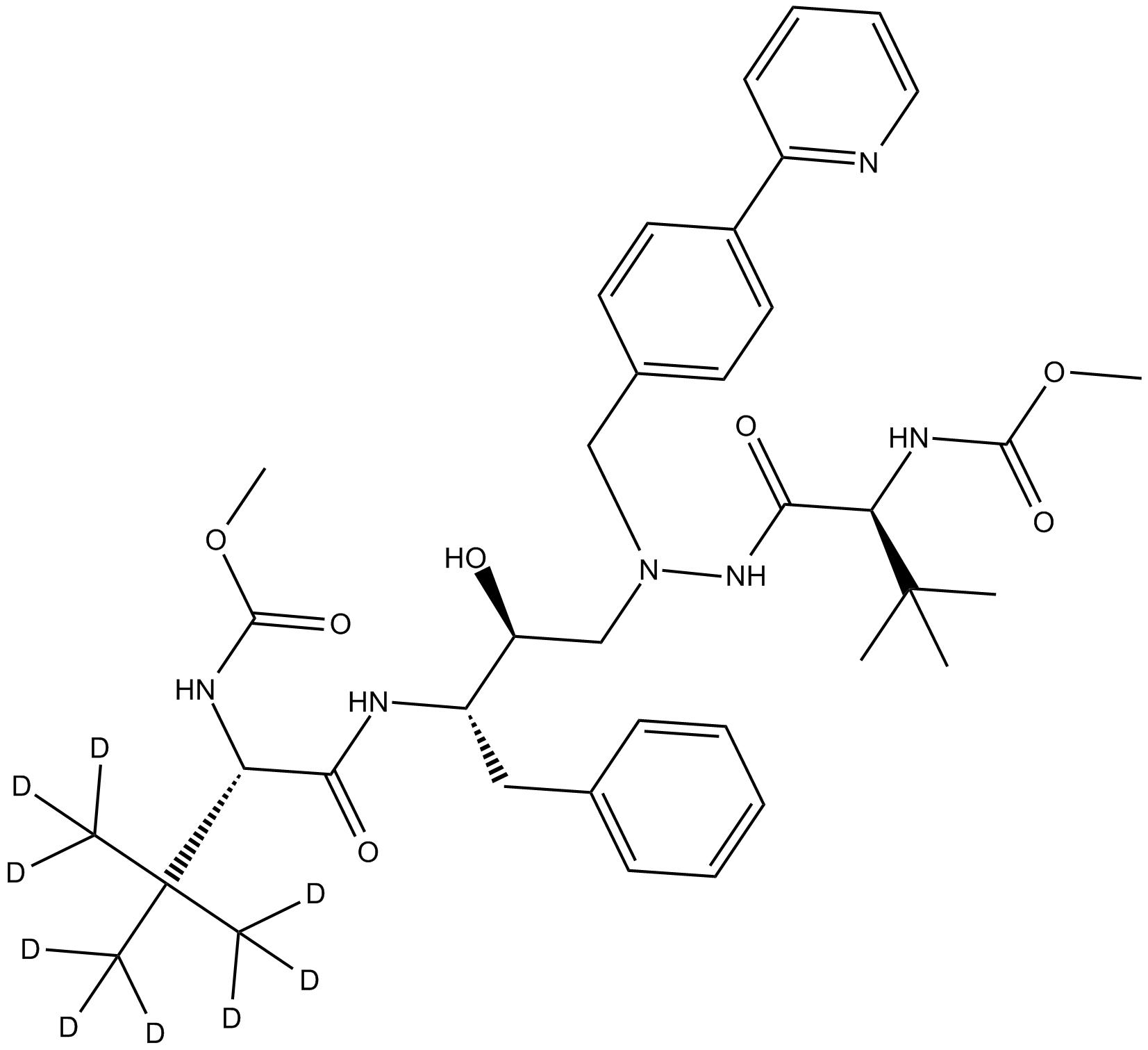 Deuterated Atazanivir-D3-2
