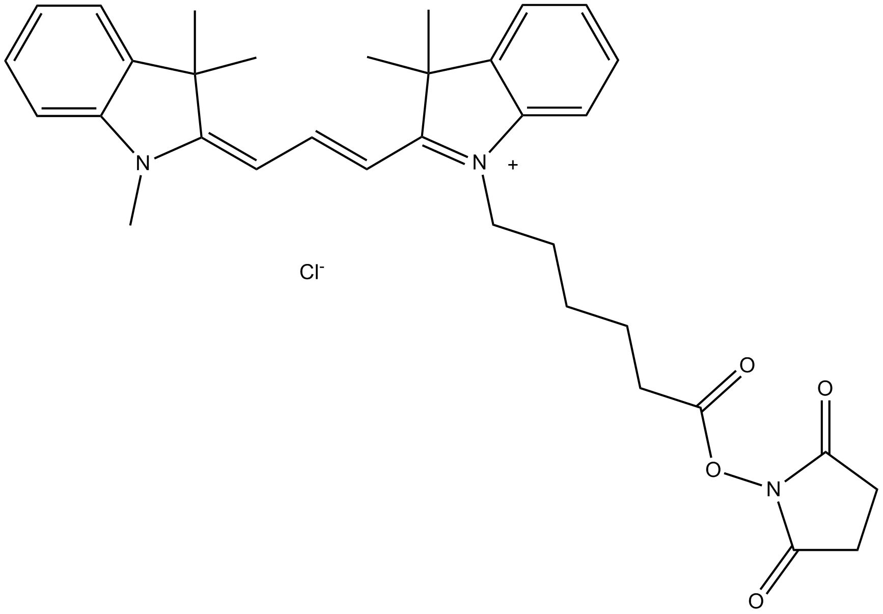 Cy3 NHS ester (non-sulfonated)