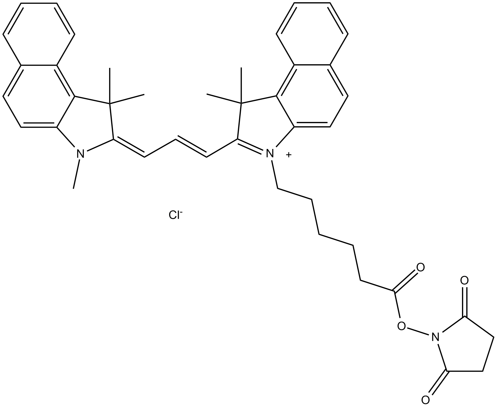 Cy3.5 NHS ester (non-sulfonated)