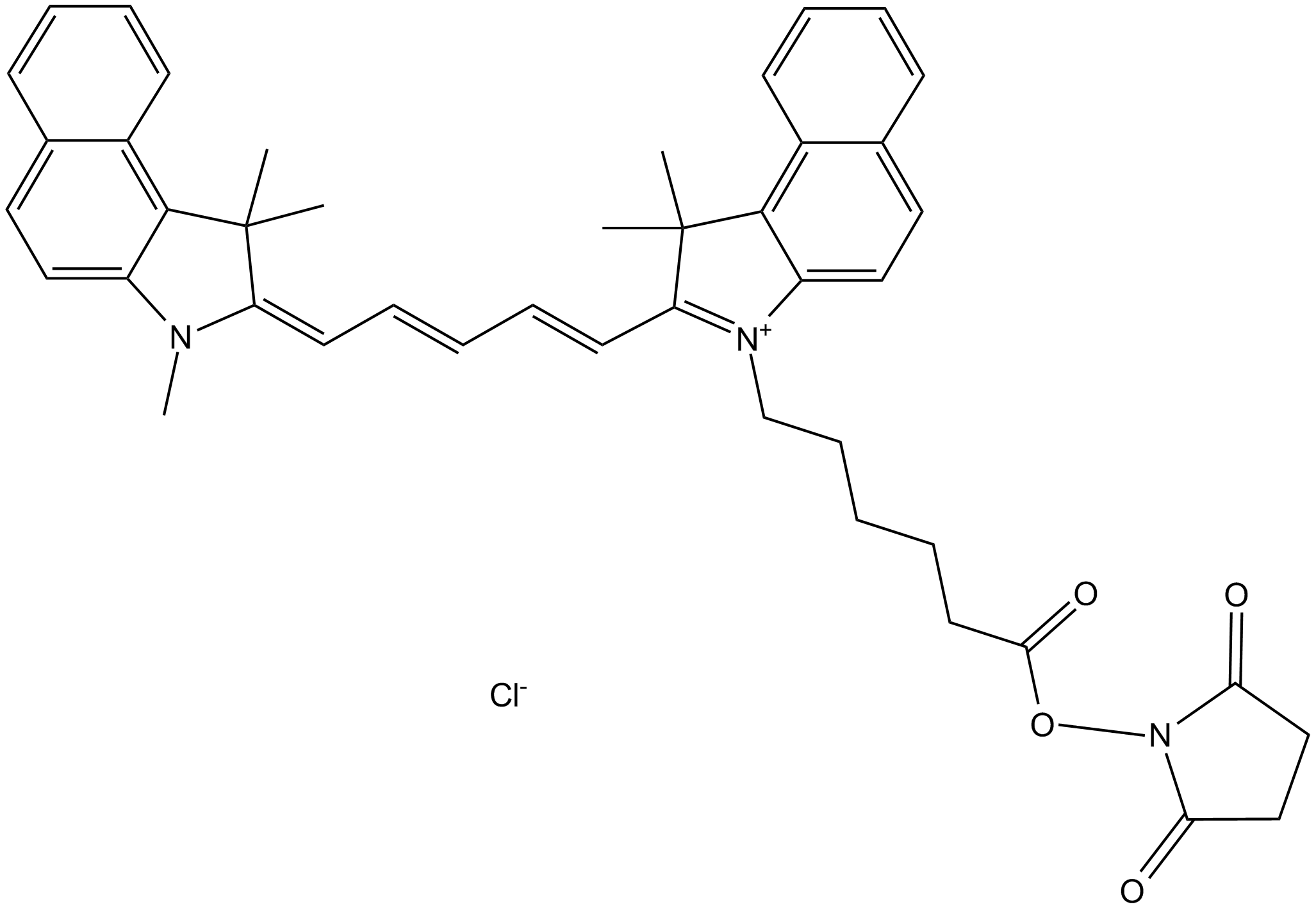 Cy5.5 NHS ester (non-sulfonated)