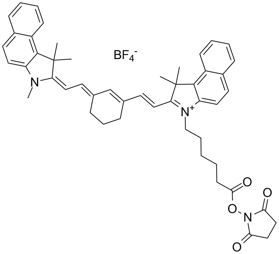 Cy7.5 NHS ester (non-sulfonated)