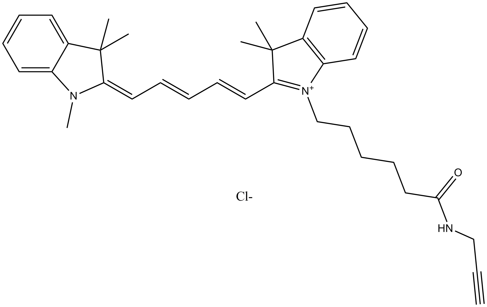 Cy5 alkyne (non-sulfonated)