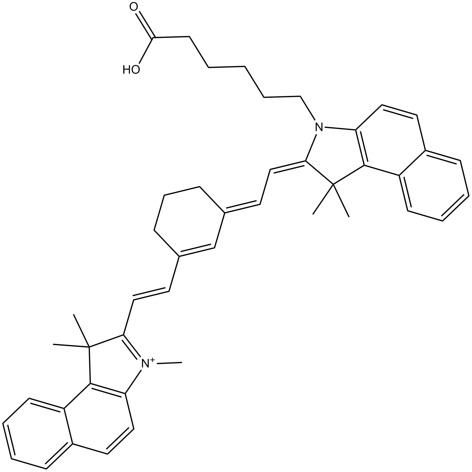 Cy7.5 carboxylic acid (non-sulfonated)