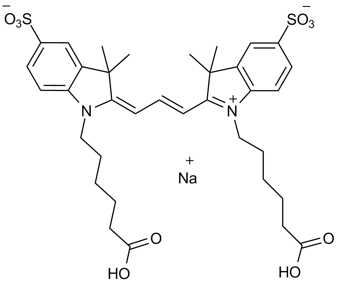 Cy3 Bis carboxylic acid