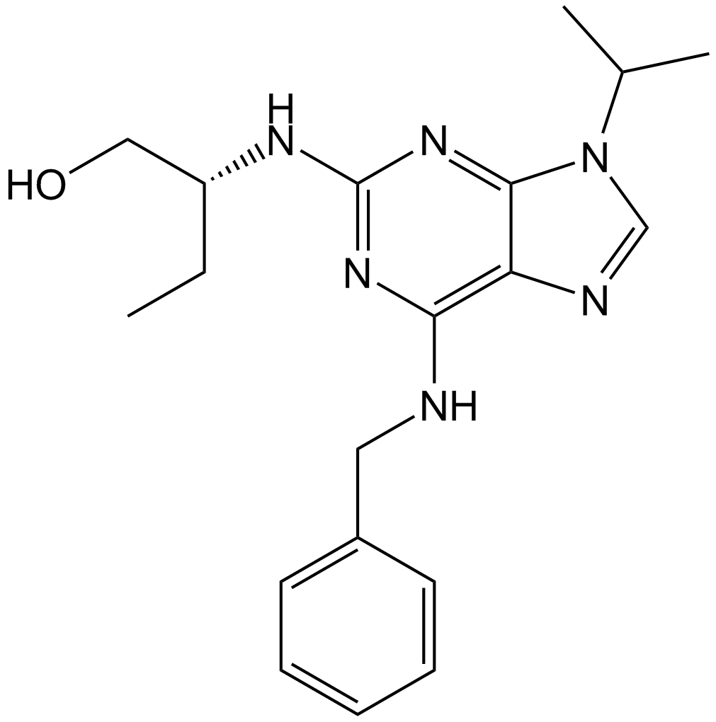 Roscovitine (Seliciclib,CYC202)