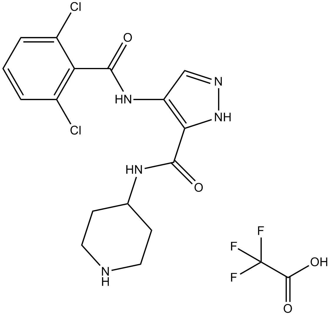 AT7519 trifluoroacetate