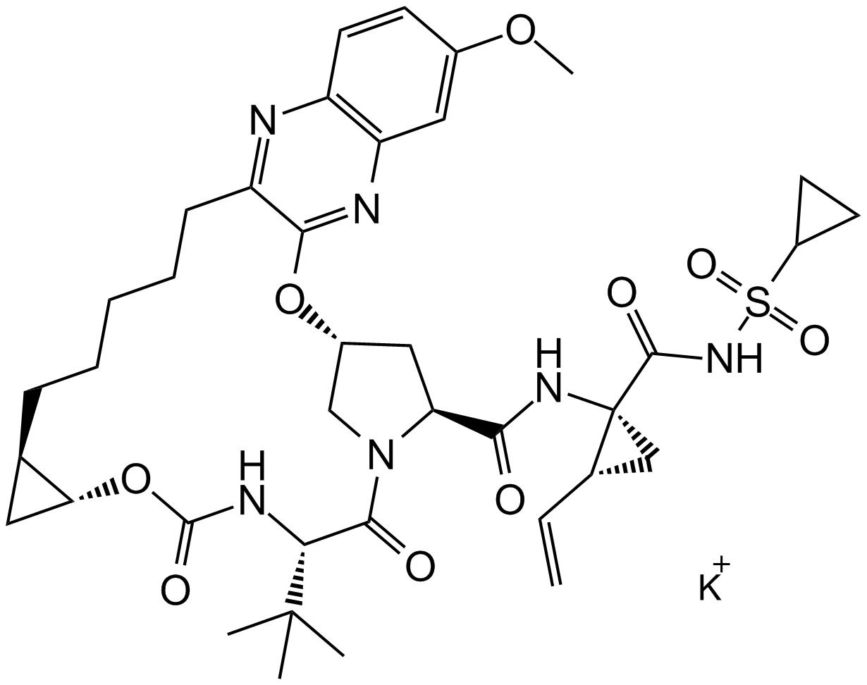 MK-5172 potassium salt