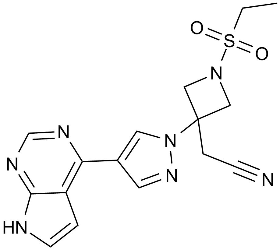 Картинки по запросу baricitinib structure