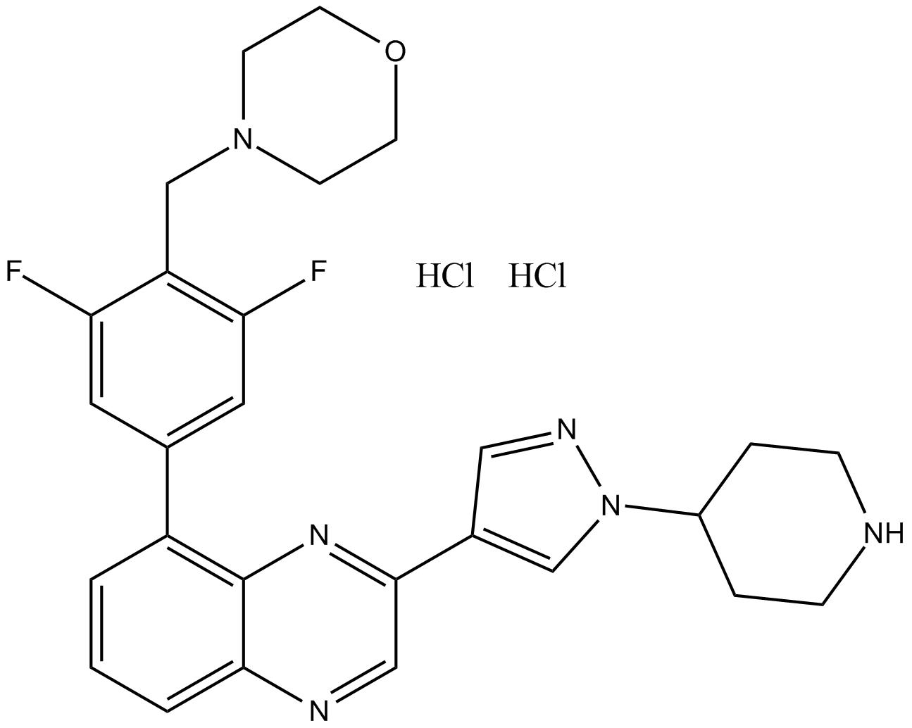 NVP-BSK805 2HCl