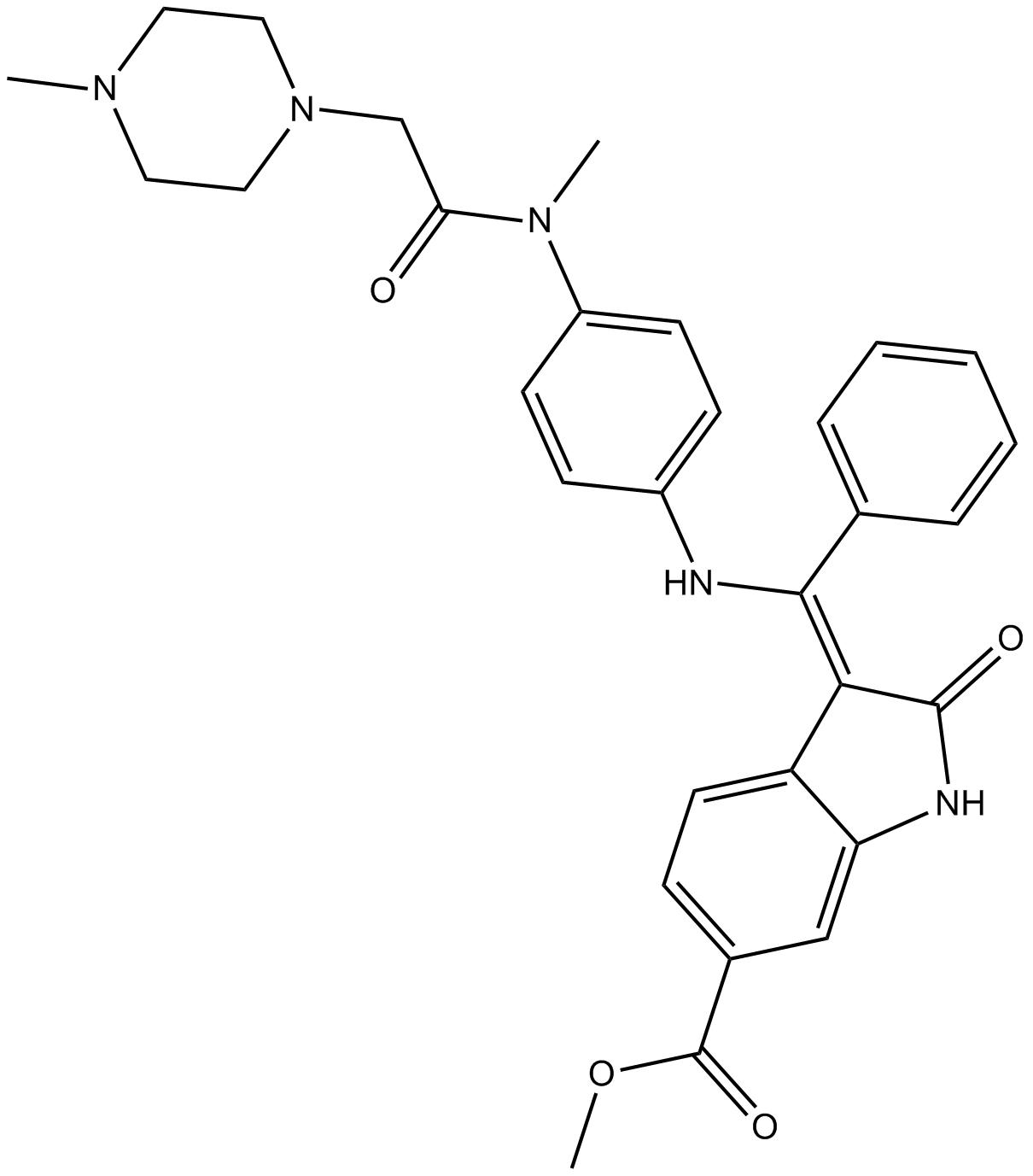 Nintedanib(BIBF 1120)