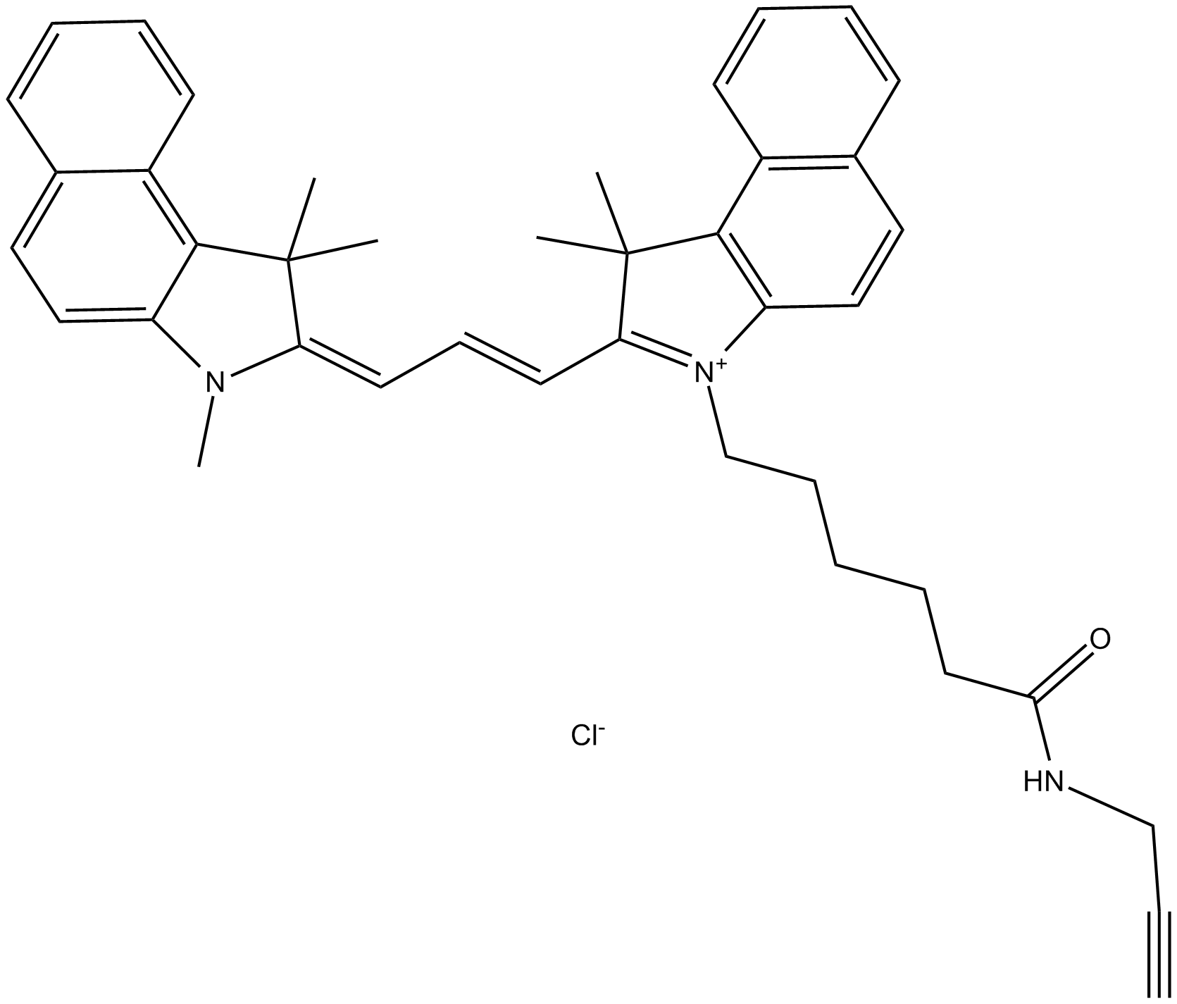 Cy3.5 alkyne (non-sulfonated)