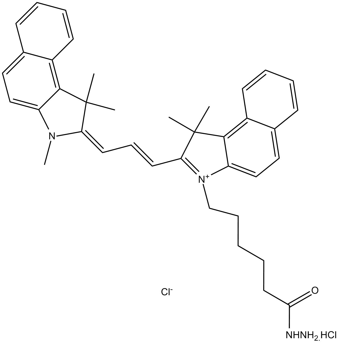 Cy3.5 hydrazide (non-sulfonated)