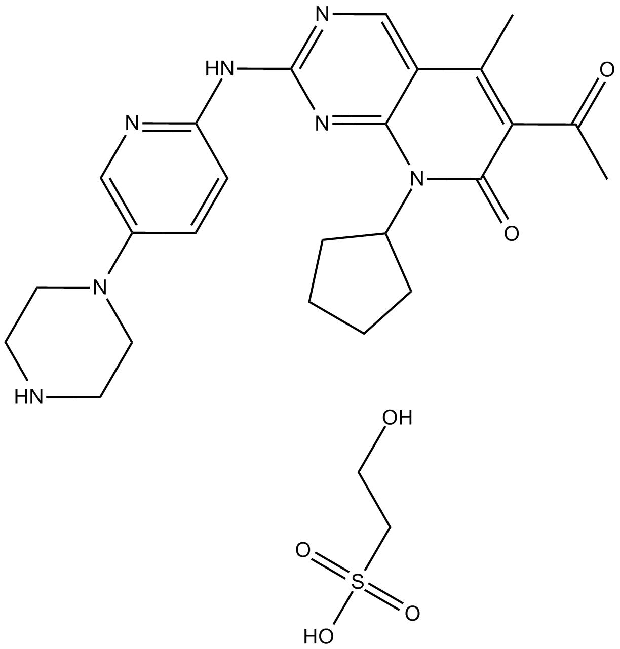 Palbociclib (PD0332991) Isethionate