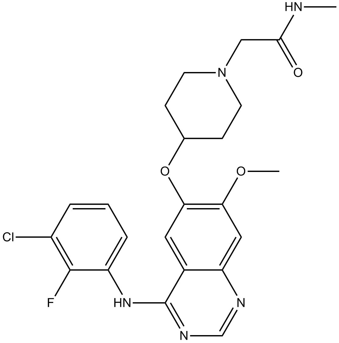 AZD8931 (Sapitinib)