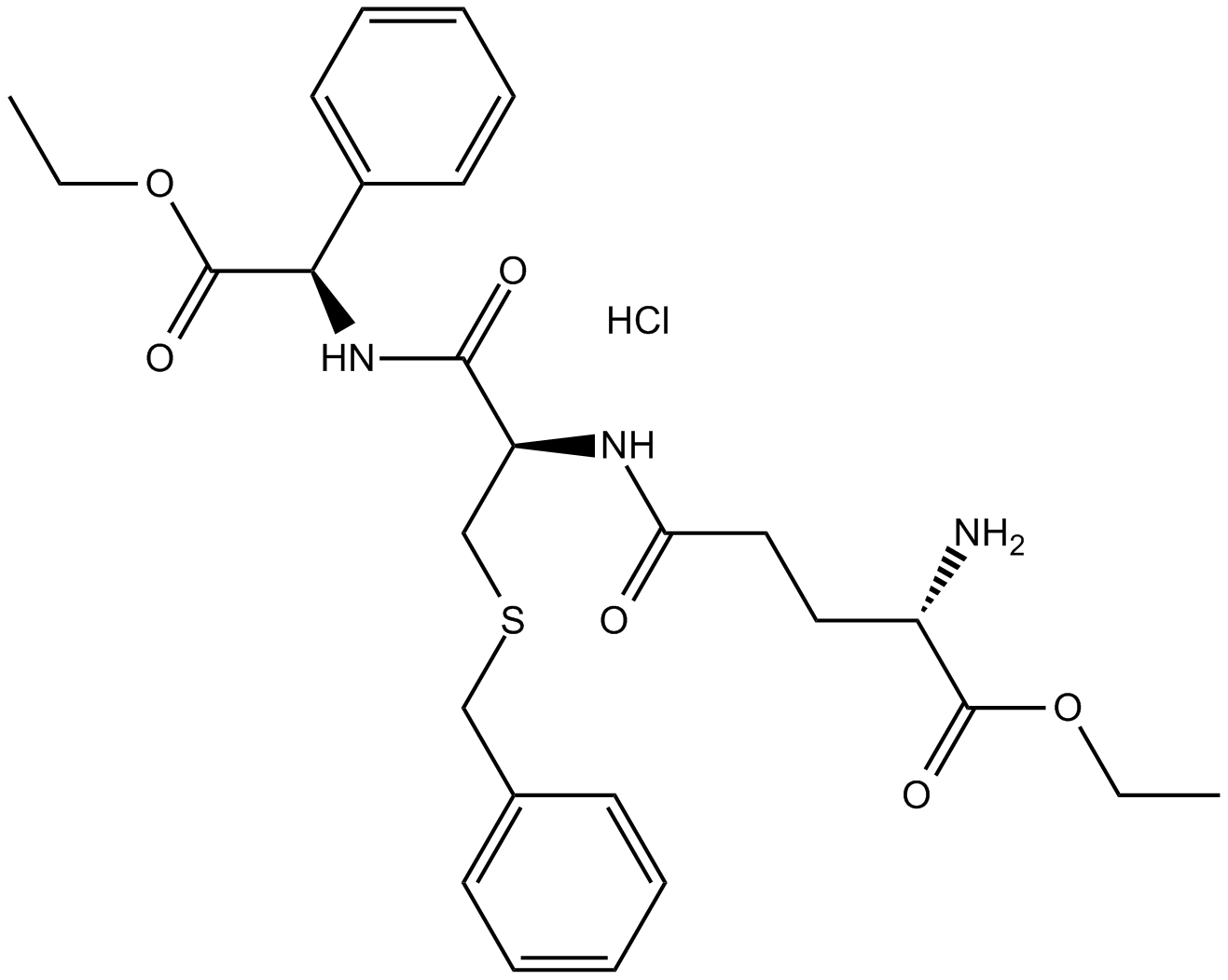 Ezatiostat hydrochloride