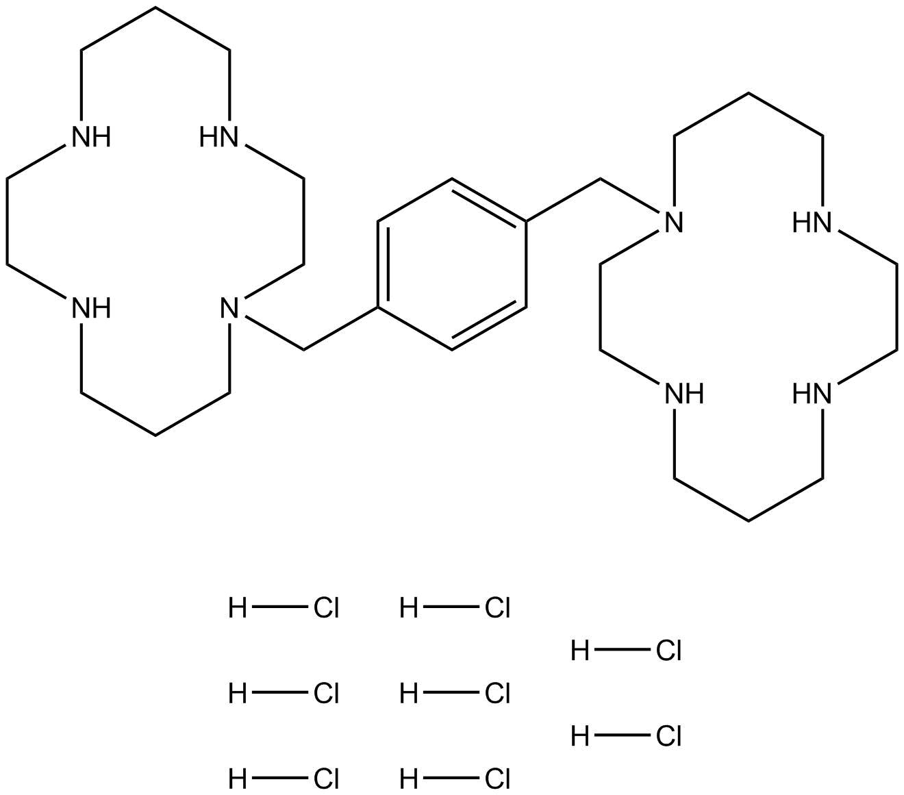 Plerixafor 8HCl (AMD3100 8HCl)