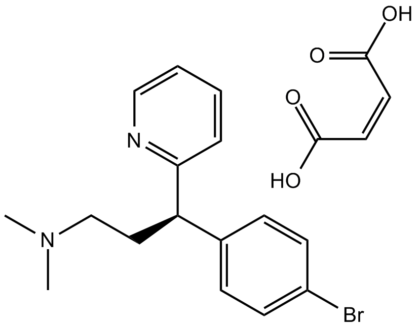 Brompheniramine hydrogen maleate