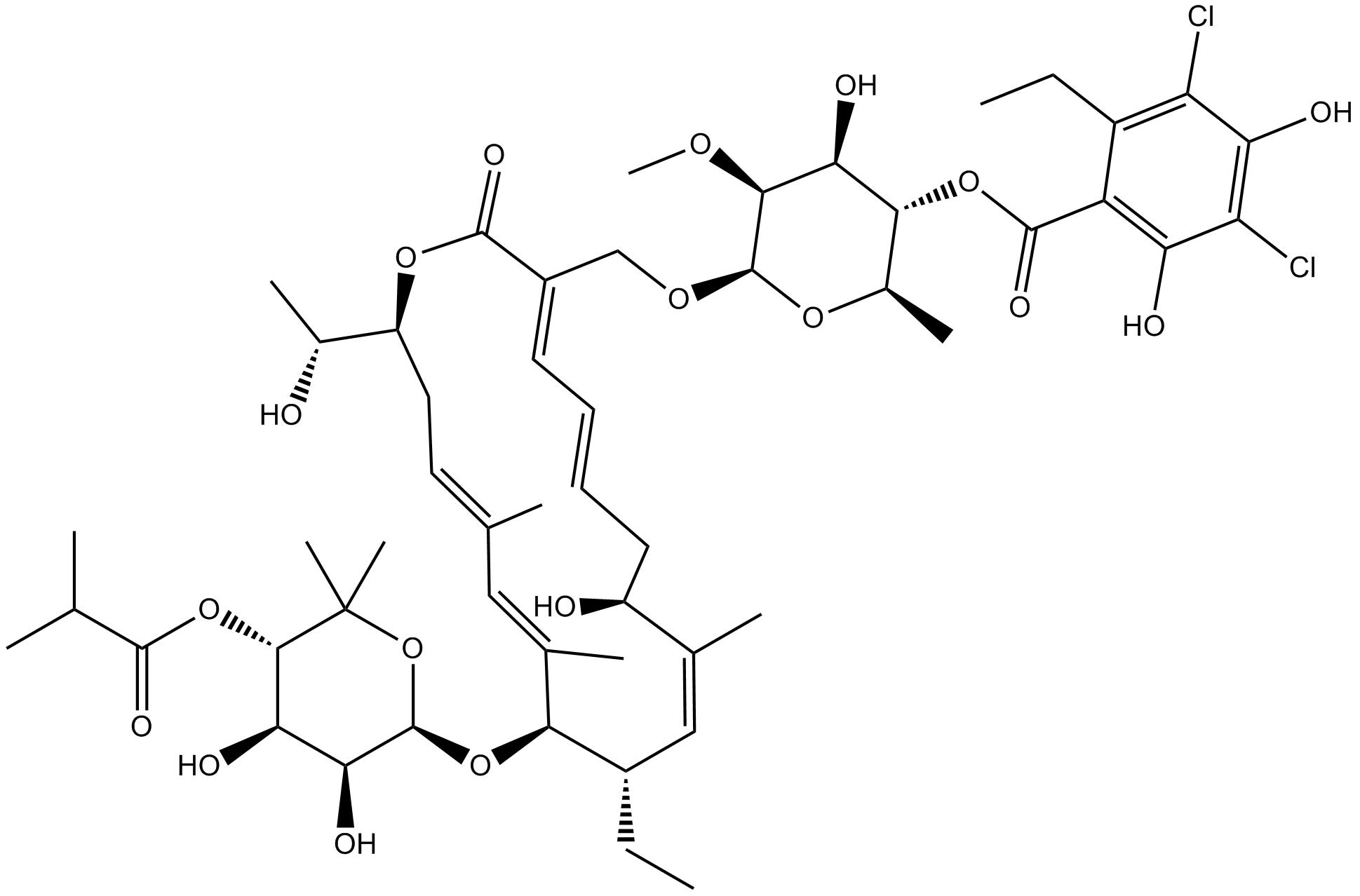 Fidaxomicin