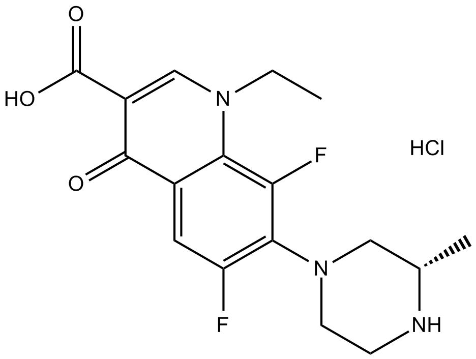 Lomefloxacin HCl