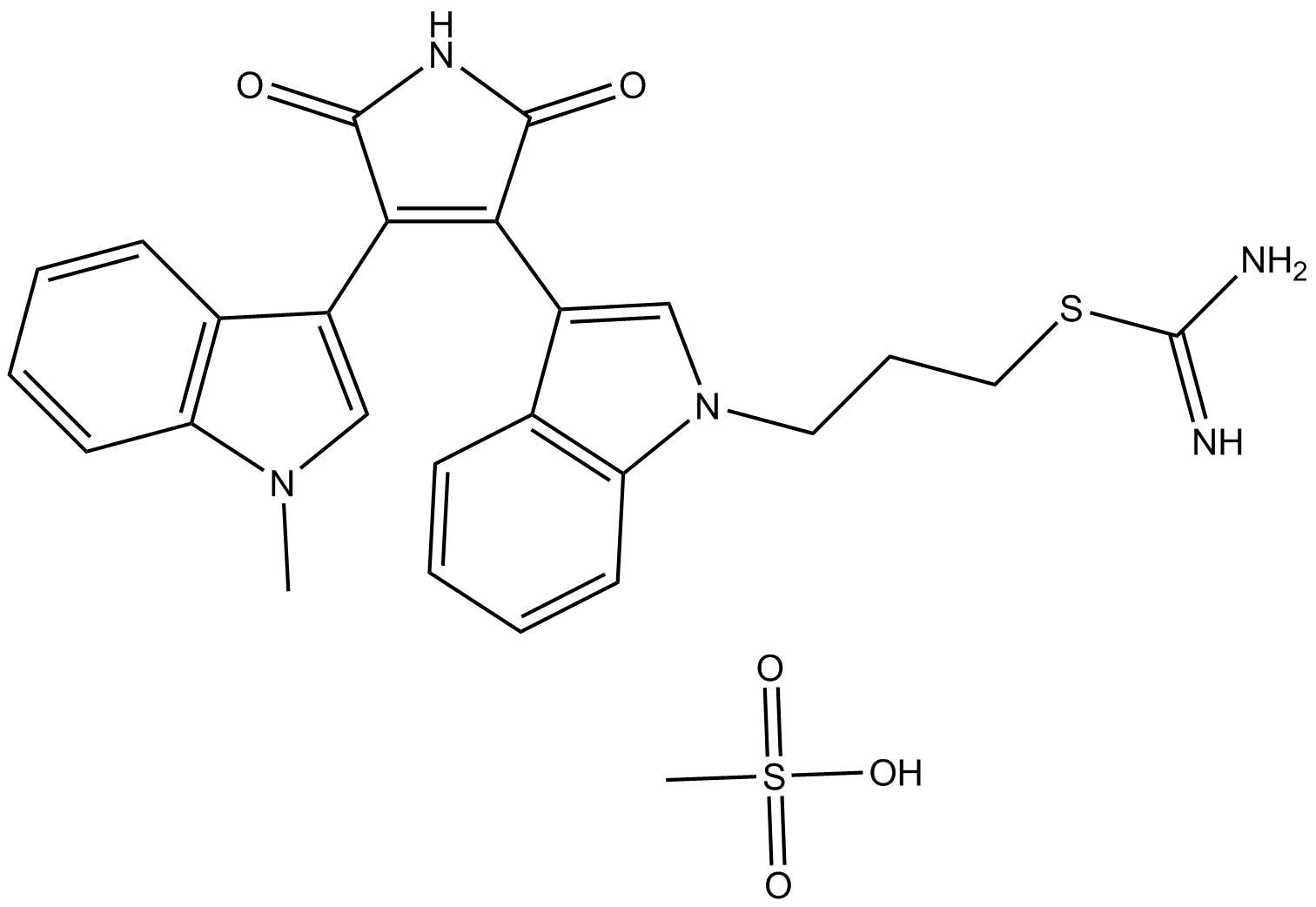 Ro 31-8220 Mesylate