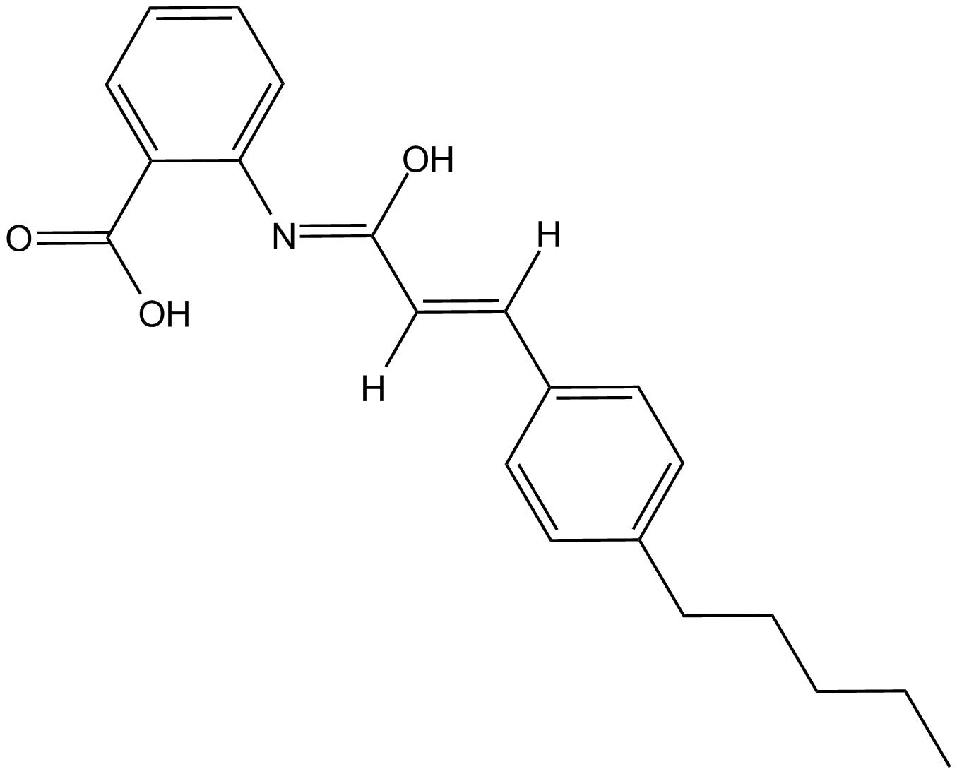 N-(p-amylcinnamoyl) Anthranilic Acid