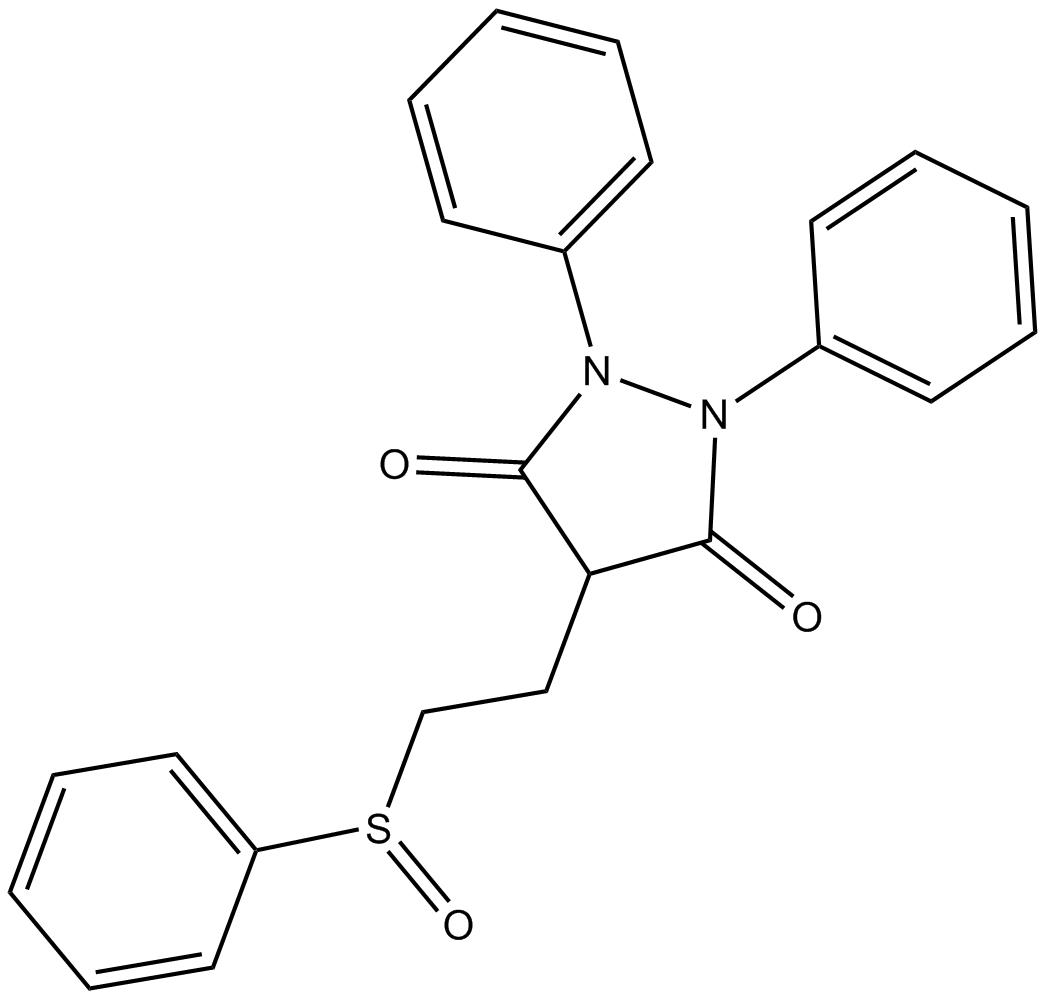 (+/-)-Sulfinpyrazone