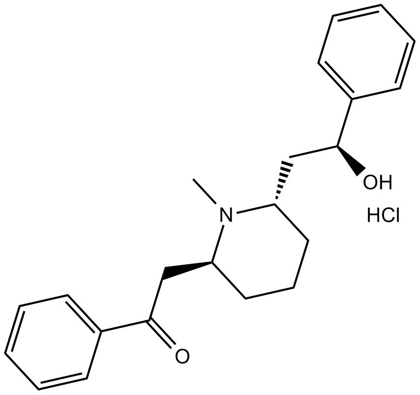 (-)-Lobeline hydrochloride