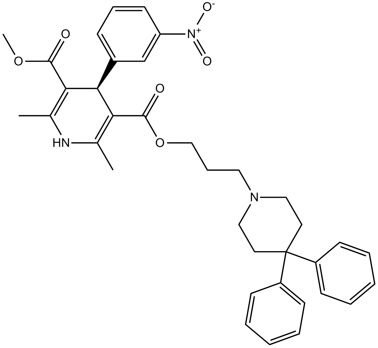 (R)-(-)-Niguldipine hydrochloride