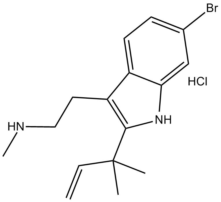 Desformylflustrabromine hydrochloride