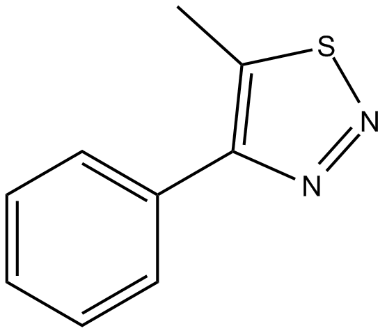 4-phenyl-5-methyl-1,2,3-Thiadiazole