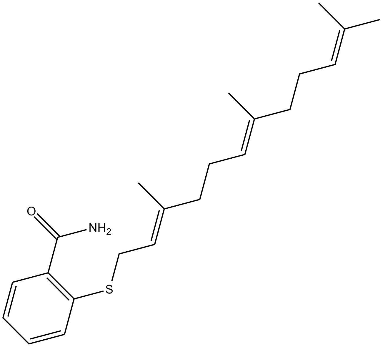 Farnesyl Thiosalicylic Acid Amide